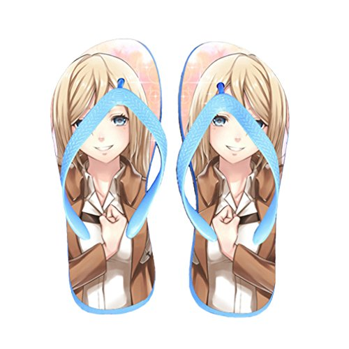 Bromeo Attack on Titan Anime Unisex Flip Flops Chanclas 200