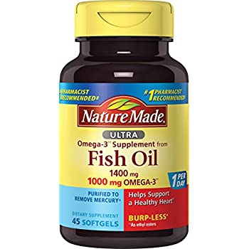 Nature made fish oil 1200 mg 360 mg omega 3 for Omega 3 fish oil amazon