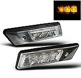 ZMAUTOPARTS BMW E36 E34 Front Amber LED Side Marker Signal Lights Lamp