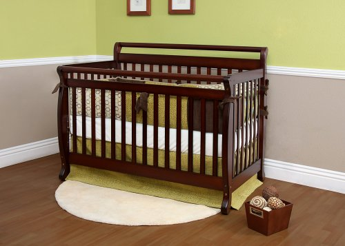 UPC 855649001518, Nursery Smart Mocha Amelia 4-in-1 Convertible Baby Crib