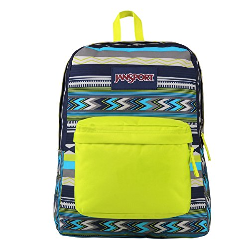 Jansport Superbreak – limited Edition Navy Super Stripe