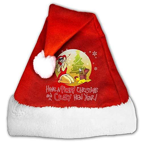 Harley Quinn Merry Christmas Christmas Hats -