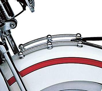 H-D Chrome Front Fender Rail Trim Kit for Harley FL 1949 Part#50-1084