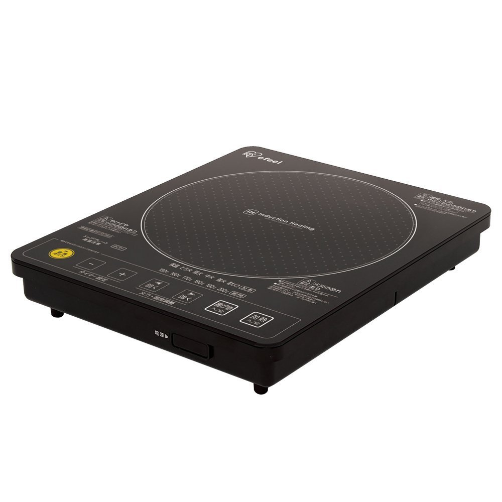 アイリスオーヤマ IHクッキングヒーター 1400W 音声ガイド付 ブラック EIH14V-B   B0087CNIQQ