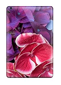 New Style Case Cover FyjSeLK8892WnoHq Purple Pink Blue Tropical Flowers Compatible With Ipad Mini/mini 2 Protection Case
