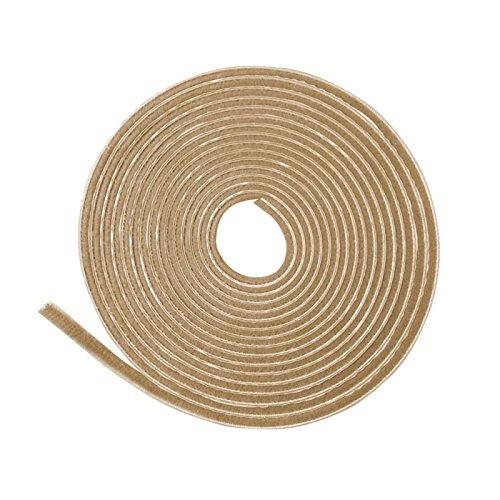 11 m Staubschutzb/ürste beige 4 mm Borsten