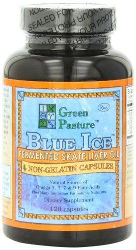 Голубой лед кисломолочных Skate жир 120 Caps