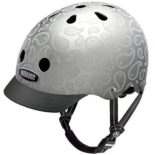 Nutcase Gen3 Bike und Skate Helm, Liquid Silver, 52-56 cm, NTG3-2146-S by Nutcase