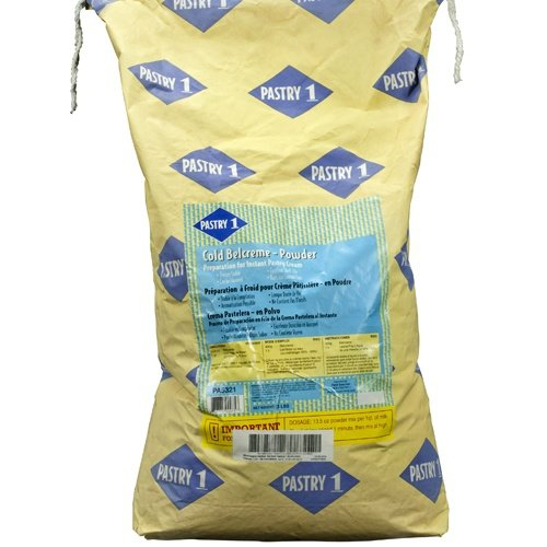 Instant Pastry Cream - Cold Belcreme Powder - 1 bag - 33 lb