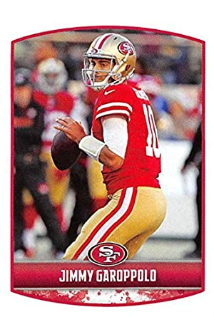 91c168efbf1 2018 Panini NFL Stickers Collection  413 Jimmy Garoppolo San Francisco  49ers Official Football Sticker