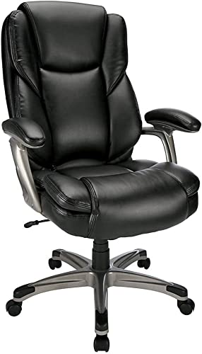 Realspace Cressfield Bonded Leather High-Back Chair