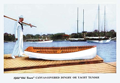 Used, Buyenlarge Canvas-Covered Dinghy or Yacht Tender - for sale  Delivered anywhere in USA