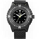 Q&Q SmileSolar 20BAR Series Black Dial and Strap RP06J001Y Powered by Solar