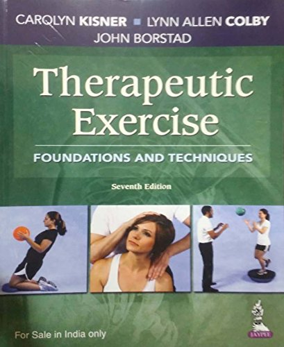 therapeutic exercise foundations and techniques (Best Exercise For Ms Sufferers)