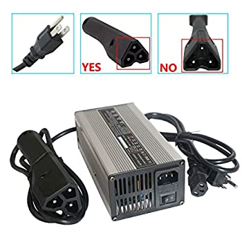 Image of Abakoo New 48V 6A RXV Golf Cart Battery Charger for Ez-Go EZgo TXT with RXV Plug 3 Prong Golf Cart Accessories