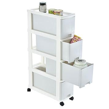 HTZ Lagerschränke Mobile Slide-Out Schublade Aufbewahrungsbox Küche ...