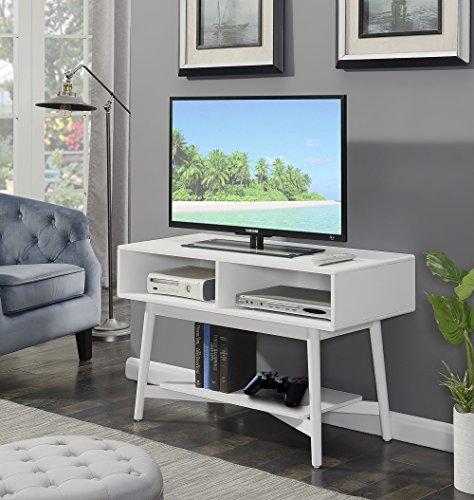 Savannah Stand - Convenience Concepts 7303070W Savannah TV Stand, White