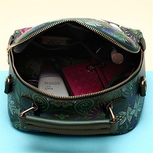 sac bandoulière à dames à green dames féminin cuir vert PU sac à main main sac Haoling Ww8vS1xAqn