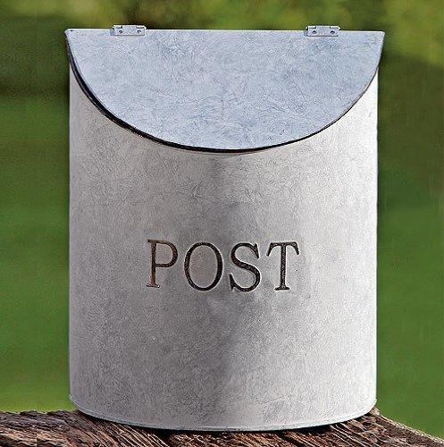 Briefkasten aus Zinkblech
