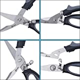 Gerior Spring Loaded Poultry Shears - Heavy Duty