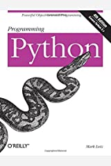 Programming Python: Powerful Object-Oriented Programming by Mark Lutz(2011-01-10) Unknown Binding