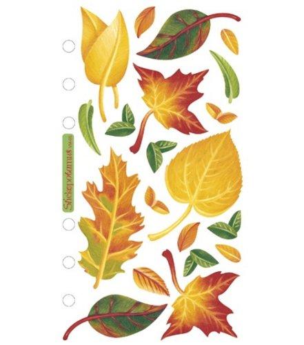Sticko Vellum Stickers - - Leaf Vellum