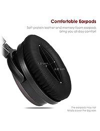 233621 H501 over de cancelación de ruido auriculares in ear con micrófono y Control Remoto para Airplane (Rojo y Metalic Gris)
