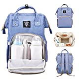 Dainty Diaper Bag Multi-Function Backpack Nappy Bags,Mom Dad Waterproof Travel Backpack for Baby Care, Large Capacity18L, Stylish and Durable(Purple Orchid)