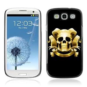 DesignHeaven Slim Design Case Samsung Galaxy S3 III i9300 ( Cool Funny Retro Pink Mustache )