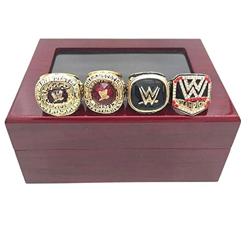 WWE CHAMPIONSHIP REPLICA RING SET SIZE 11 W/BOX by Onsalenow2242