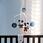 Disney Mickey Mouse Musical Mobile, Navy, Red