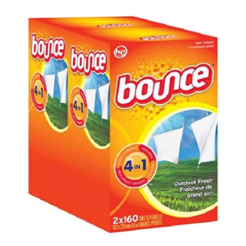 Bounce Dryer Sheets (6pk.,160ct.ea.,960 total sheets) - (Original from manufacturer - Bulk Discount available)