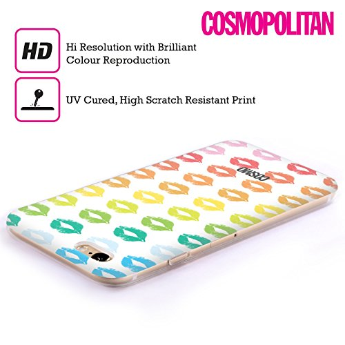 Official Cosmopolitan Rainbow Kiss Mark Soft Gel Case for Apple iPhone 6 / 6s
