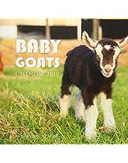 Baby Goats Calendar 2018: 16 Month Calendar