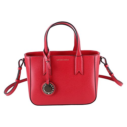 BORSA EMPORIO ARMANI TOTE BAG S MINIDOLLARO Y3D083 YH15A RED/BLACK Red
