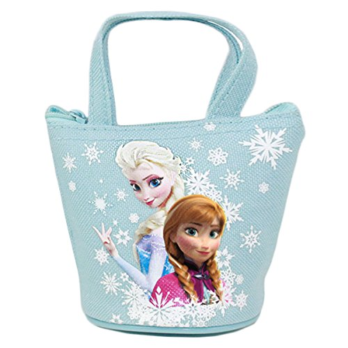Officially Licensed Disney Frozen Mini Handbag Style Coin Purse - Elsa and Anna