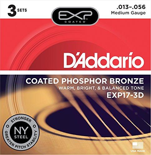 D'Addario Acoustic Guitar Strings (EXP17-3D)