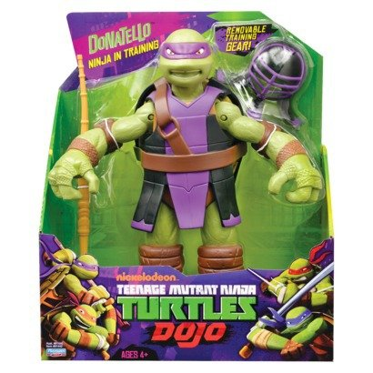 Tortugas Ninja – Donatello Dojo – Figura de 30 cm – Teenage Mutant Ninja Turtles