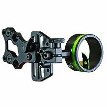 Hha Sports Optimizer Lite Cadet 1 Pin Sight, Black, 0.019-Inch, Right Hand