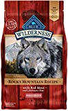 Blue Buffalo Wilderness Rocky Mountain Recipe High Protein Grain Free, Natural Adult Small Breed Dry Dog Food, Red Meat 4.5-lb