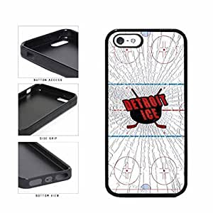 Detroit Ice TPU RUBBER SILICONE Phone Case Back Cover Apple iPhone 6 plus 5.5