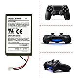 iProtect Sony Playstation 4 PS 4 batterie de secours pour la manette dualshock sans fil et câble de charge usb