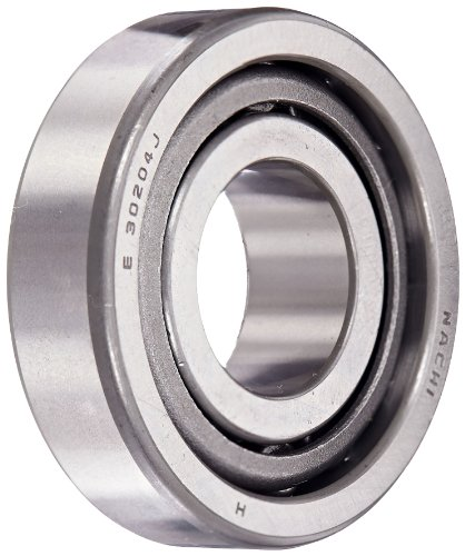 Nachi 30204 Tapered Roller Bearing, Cone and Cup Set, Single Row, Metric, 20mm ID, 47mm OD, 14mm (Nachi Cylindrical Roller Bearing)