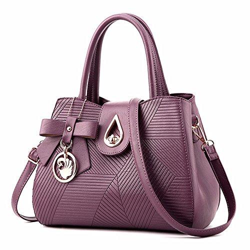 Main capacité Seule Sac violet de GQFGYYL Grande Sac à Fashion Sac épaule naBEFxR