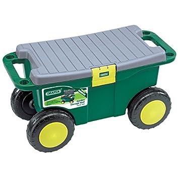 Draper 60852 Gardeners Tool Cart and Seat Amazoncouk Garden