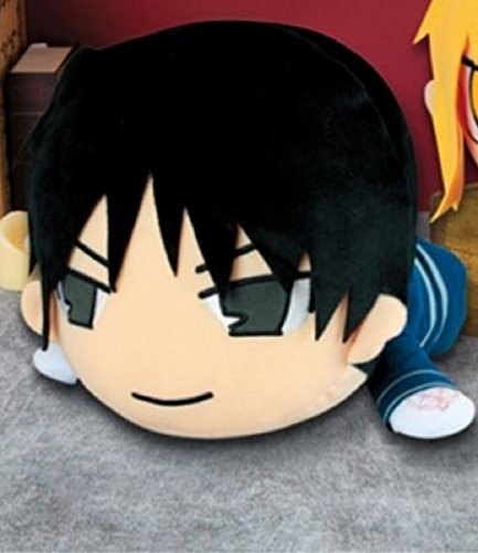 FMA Fullmetal Alchemist Nesoberi Lie Big Stuffed Plush Figure Toy Roy Mustang 11.8