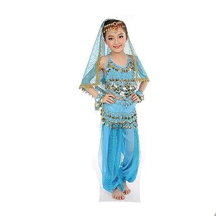 GONGXI Hotselling niñas Indian Danza del Vientre Traje Tops ...