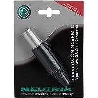 Neutrik NC3FM-C ConvertCon 3 Pole Unisex Female & XLR-M Cable End-by-Neutrik