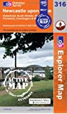 Newcastle Upon Tyne (OS Explorer Map Active)