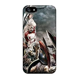 Iphone 5/5s Case Cover Skin : Premium High Quality Latest God Of War 3 Case